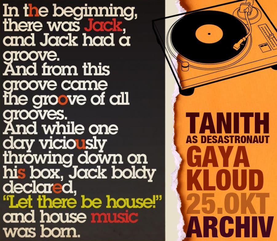 25.10.14 Beatenterprises mit Tanith & Gaya Kloud @ Archiv