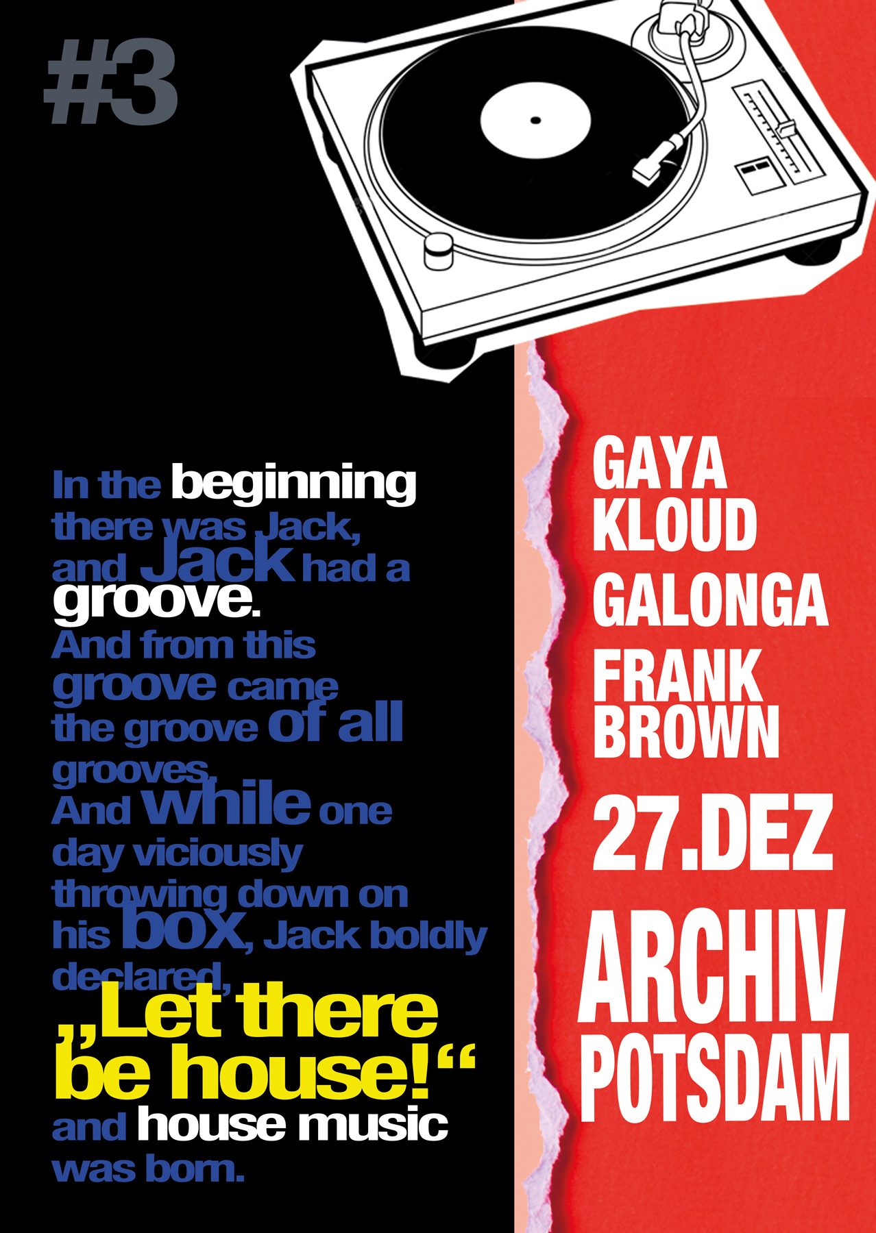 27.12.14 Beatenterprises mit Frank Brown, Mr. Galonga & Gaya Kloud @ Archiv