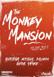Monkey Mansion_minmon_flyer