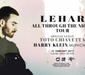 18.02.17 All Through The Night Tour w/ Lehar, Toto Chiavetta & Frank Brown @ Harry Klein