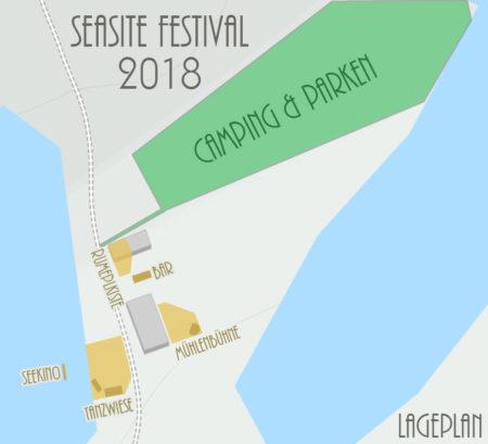 Seasite Festival 2018 Lageplan