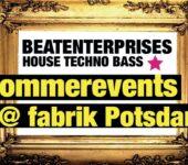 8.9.2019 Beatenterprises @ Fabrik Sommergarten